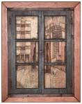 Obras de arte: Europa : España : Euskadi_Bizkaia : barakaldo : Desde la ventana