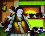 Obras de arte: America : Panamá : Veraguas : Santiago_de_Veraguas : TERNURA EN LA MIRADA