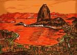Obras de arte: America : Panamá : Panama-region : Parque_Lefevre : Rio de Janeiro Laranja