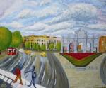 Obras de arte: America : Argentina : Buenos_Aires : Vicente_Lopez : Puerta de Alcala