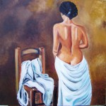 Obras de arte: Europa : España : Valencia : valencia_ciudad : Desnudo silla