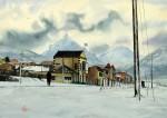 Obras de arte: America : Argentina : Tierra_del_Fuego : Ushuaia : Por la via (R-293)