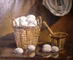 Obras de arte: Europa : España : Andalucía_Málaga : Fuengirola : canasta de huevos