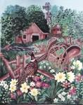 Obras de arte: America : Puerto_Rico : San_Juan_Puerto_Rico : GUAYANILLA : THE BARN