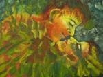 Obras de arte: America : Panam� : Panama-region : BellaVista : amor en llamas