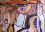 Obras de arte: Europa : España : Extremadura_Badajoz : badajoz_ciudad : la siesta