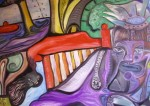 Obras de arte: Europa : España : Extremadura_Badajoz : badajoz_ciudad : pensando en mi
