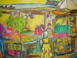 Obras de arte: America : Panamá : Panama-region : Parque_Lefevre : En el Mercado
