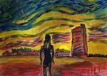 Obras de arte: America : Panamá : Panama-region : Parque_Lefevre : Un nuevo amanecer
