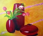 Obras de arte: Europa : España : Canarias_Las_Palmas : Maspalomas : Pasión en rojo
