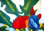 Obras de arte: America : Argentina : Buenos_Aires : Capital_Federal : Musácea en flor