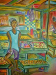 Obras de arte: America : Panamá : Panama-region : Parque_Lefevre : Menino no Mercado