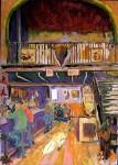 Obras de arte: Europa : Espa�a : Valencia : TORRENT : RETAURANTE MESON DEL VINO (Requena)