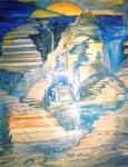 Obras de arte: America : Puerto_Rico : San_Juan_Puerto_Rico : Manati : camino al cielo
