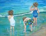 Obras de arte: America : Puerto_Rico : San_Juan_Puerto_Rico : Manati : en la playa