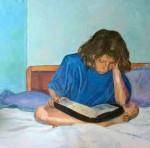 Obras de arte: America : Puerto_Rico : San_Juan_Puerto_Rico : Manati : lectura de la Biblia