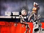 Obras de arte: Europa : Países_Bajos : Noord-Brabant : Eindhoven : Droids