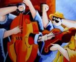 Obras de arte: America : Colombia : Antioquia : Medellin : DE CUERDAS