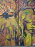 Obras de arte: America : Panam� : Panama-region : BellaVista : antes que llegara eva