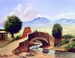 Obras de arte: America : México : Nuevo_Leon : Apodaca : Puente