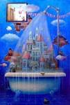Obras de arte: America : Cuba : La_Habana : Vedado : lluvia