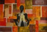 Obras de arte: America : Argentina : Buenos_Aires : Ciudad_de_Buenos_Aires : Meditando