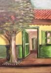 Obras de arte: America : Colombia : Distrito_Capital_de-Bogota : Bogota : paisaje de pueblo