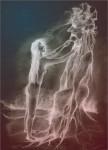 Obras de arte: Europa : Eslovaquia : Zilinsky : Trstena : woman and tree