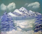 Obras de arte: Europa : España : Canarias_Las_Palmas : Maspalomas : Lago helado