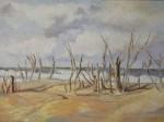 Obras de arte: America : Argentina : Santa_Fe : Rosario : El viento y la soledad