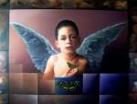 Obras de arte: America : Honduras : Francisco Morazan : Tegucigalpa : mensajero de paz  2