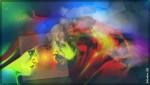 Obras de arte: America : Argentina : Buenos_Aires : lanus : Diálogo - X