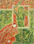 Obras de arte: Europa : España : Comunidad_Valenciana_Alicante : Novelda : rojo y verde