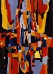 Obras de arte: Europa : Francia : Languedoc-Roussillon :  : Inutil dos - Cuadro abstracto