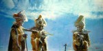 Obras de arte: America : Argentina : Buenos_Aires : Ciudad_de_Buenos_Aires : Tres Mascaras y un Cielo