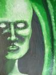 Obras de arte: America : Colombia : Distrito_Capital_de-Bogota : Bogota : green human