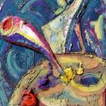 Obras de arte: Europa : España : Andalucía_Málaga : Rincón_de_la_Victoria : paleta de color