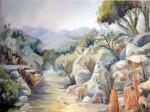 Obras de arte: America : Argentina : Santa_Fe : Rosario : Camino en Merlo San Luis