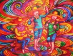 Obras de arte: America : México : Jalisco : Guadalajara : Tres niños cantando.