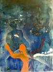 Obras de arte: America : México : Jalisco : zapopan : autoretrato