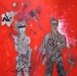 Obras de arte: America : México : Jalisco : zapopan : ayer levanté tus memorias