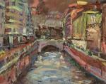 Obras de arte: Europa : España : Castilla_y_León_Burgos : burgos : Cauce Río Vena