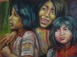 Obras de arte: America : Argentina : Cordoba : Rio_Ceballos : las tres hermanas