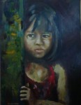 Obras de arte: America : Argentina : Cordoba : Rio_Ceballos : tristeza en la puerta