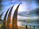 Obras de arte: America : Perú : La_Libertad-Peru : Trujillo,_trujillo : huanchaco