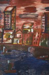 Obras de arte: America : Cuba : Santiago_de_Cuba : Palma_Soriano : Tarde rojiza
