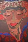 Obras de arte: America : Cuba : Santiago_de_Cuba : Palma_Soriano : Retrato de Milena con sombrero