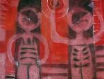Obras de arte: America : México : Mexico_Distrito-Federal : Coyoacan : LA MANZANA