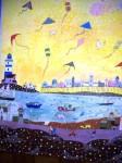 Obras de arte: Europa : España : Andalucía_Cádiz : Jerez_de_la_Frontera : volando cometas