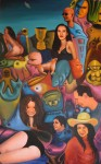Obras de arte: Europa : España : Valencia : Burjassot : autoretrato psicológico